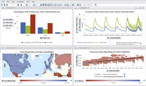 Self Service BI mit SAS Visual Analytics